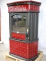 keramika červená