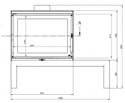 KFD STO iMax 14 - kamna litinová KF Design
