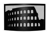 Krbový paravan motiv Koloseum