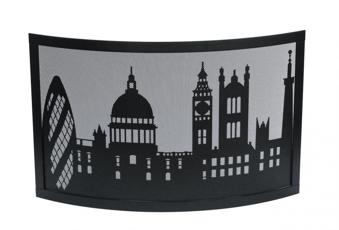 Krbový paravan motiv Londýn Lienbacher