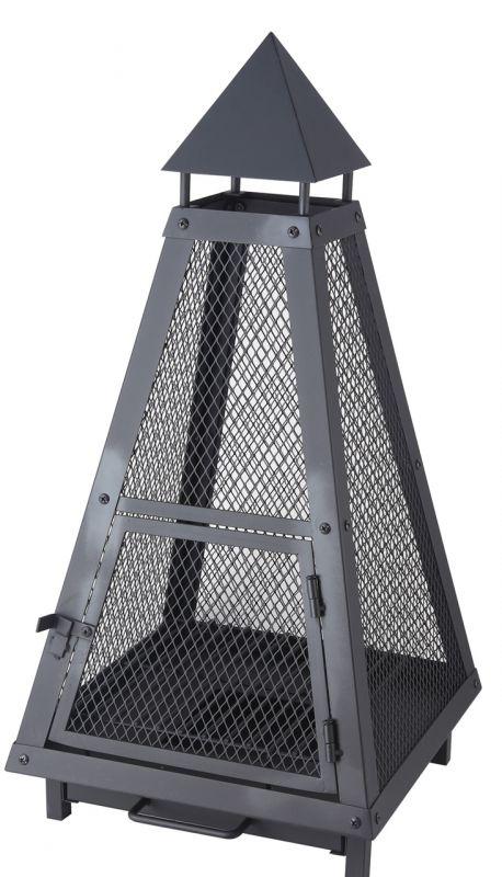 Venkovní přenosné ohniště pyramida Lienbacher