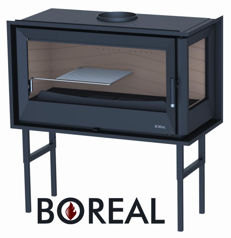 Boreal I90ED - krbová vložka rohová pravá DOPRAVA ZDARMA nad 10 000 Kč