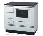 KVS Moravia VSP 9100 bílý - sporák na tuhá paliva, ZDARMA DOPRAVA