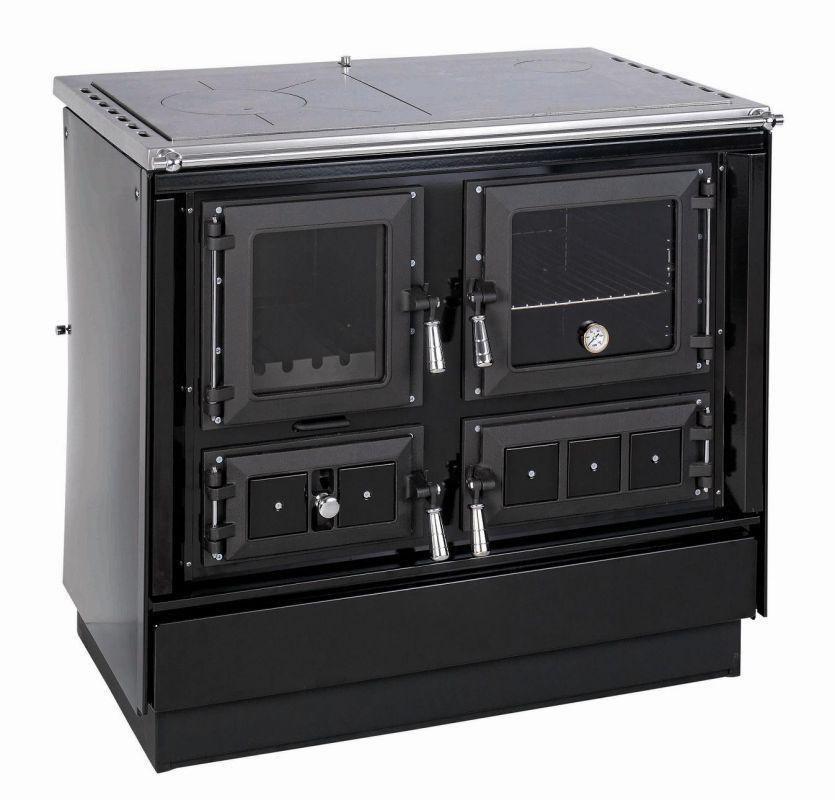 KVS Moravia VSP 9112.2682 KLAUDIE černý - sporák na tuhá paliva, ZDARMA DOPRAVA